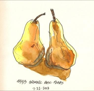 94413 Organic Bosc Pears